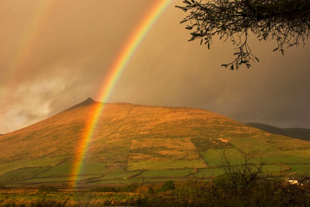 Радуга в Ирландии – там, где спрятан заветный горшок лепрекона (фото)