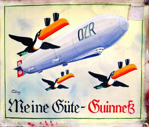 Гиннесс готовил плакаты с фашистской символикой