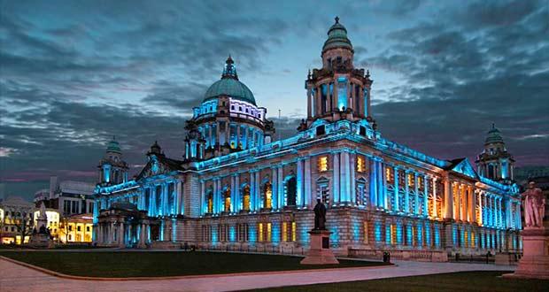 Городская мэрия столицы Северной Ирландии.