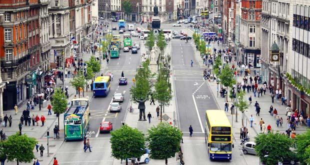 Бурная жизнь столицы Ирландии.