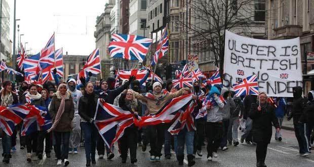 Сторонники Великобритании.
