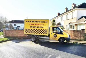 Old furniture collection and rubbish removal in Dublin