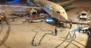 Компания Райнэйр объяснила появление пениса на снегу в аэропорту Дублина